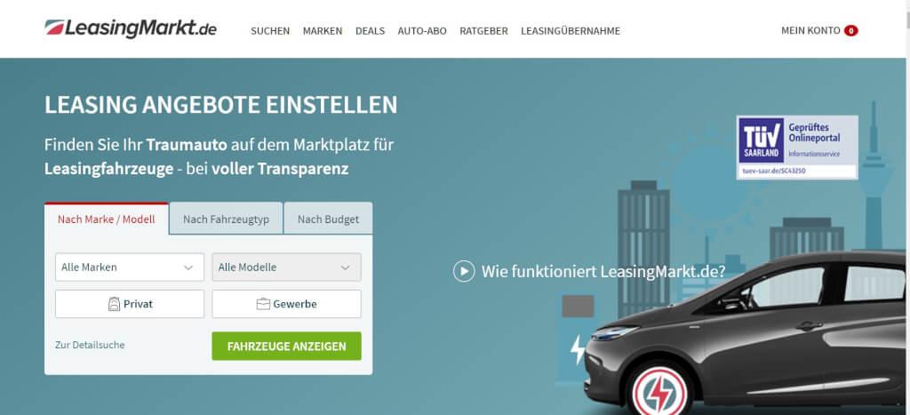 Auto Leasing Vergleich LeasingMarkt