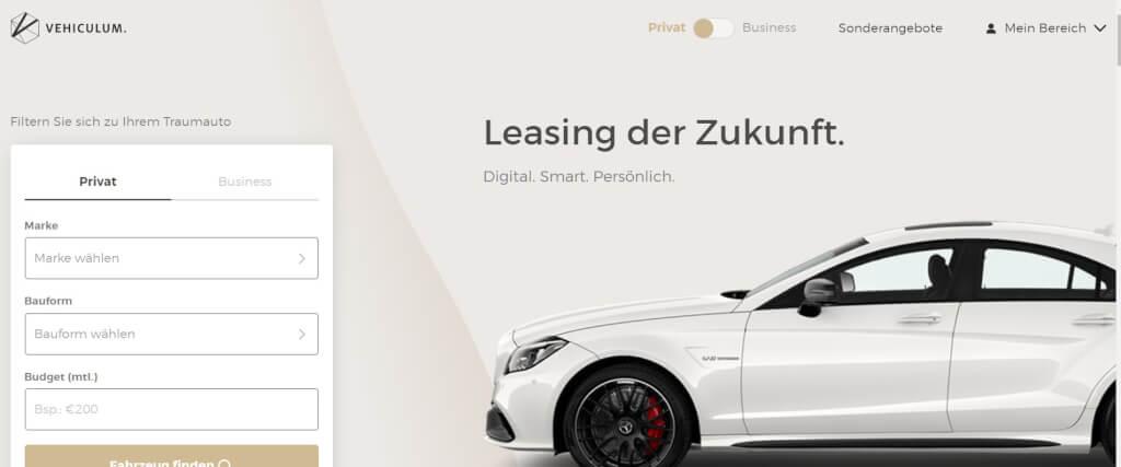 Auto Leasing Vergleich VEHICULUM