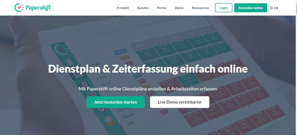 Digitale Urlaubsverwaltung Papershift