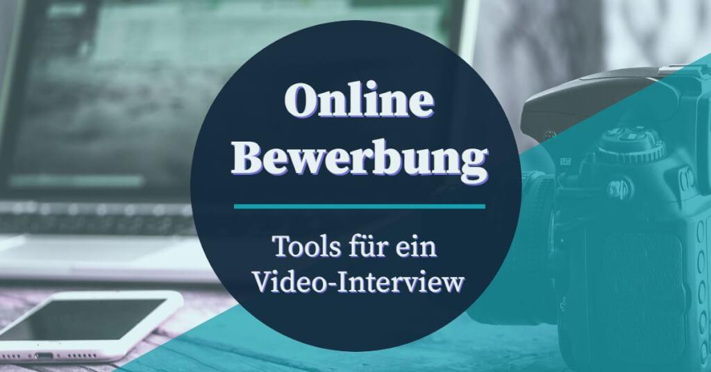 Beitrag: Online Bewerbung per Video Interview: Das sind die Tools