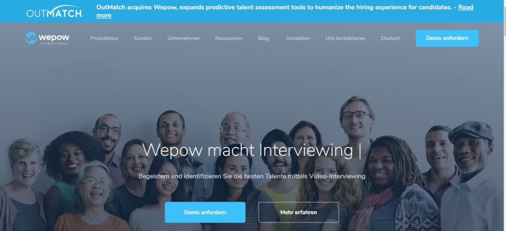 Video Interview Bewerbung Wepow