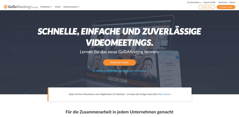 videokonferenz software gotomeeting