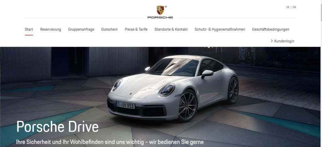 Auto Abo Porsche Drive 1