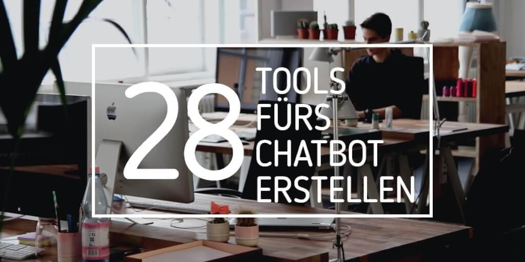 Chatbot erstellen: 28 Tools, mit denen du deinen eigenen Chatbot erstellst