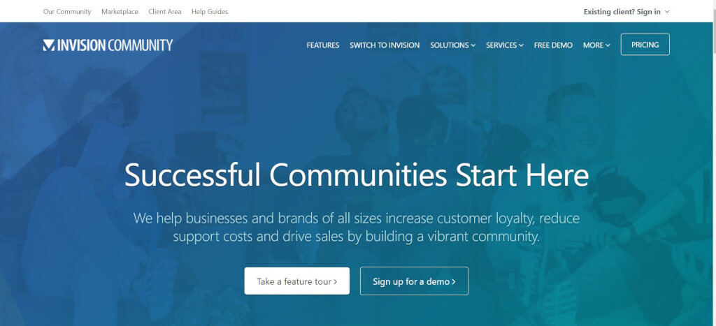 Moderne Forum Software Invision Community