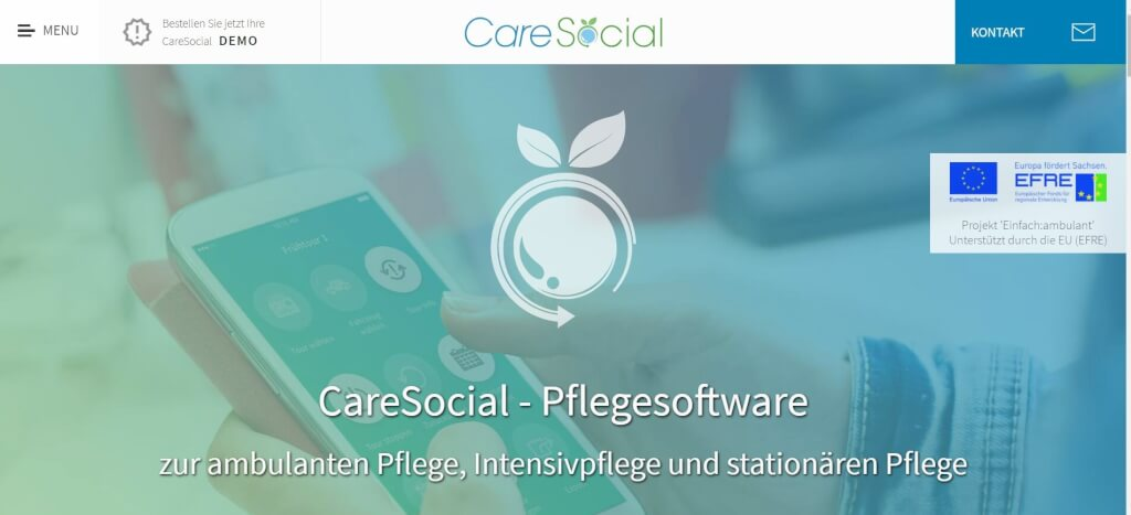Pflege digitalisieren CareSocial