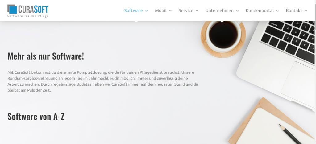 Pflege digitalisieren CuraSoft