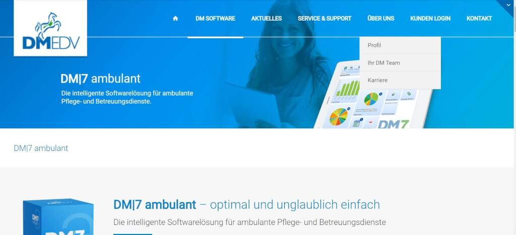 Pflege digitalisieren DM7 ambulant