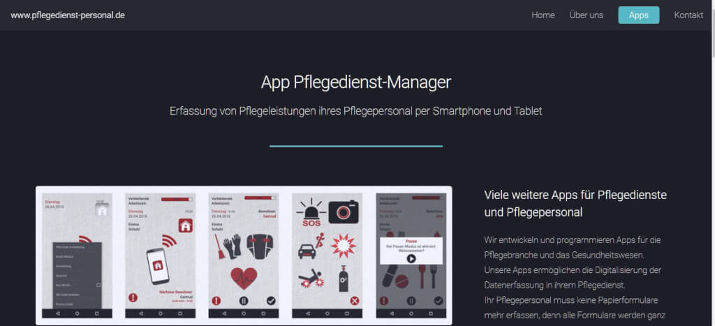 Pflege digitalisieren Pflegedienst Manager