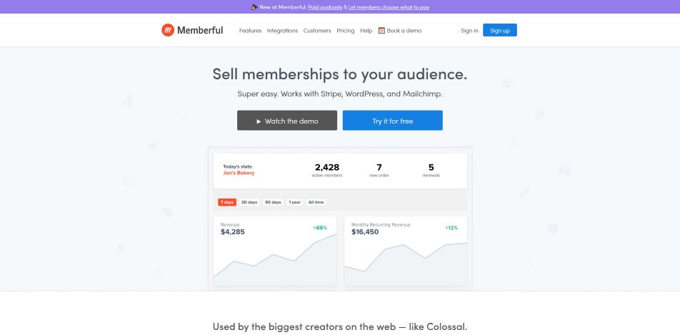 digitale produkte verkaufen plattform memberful