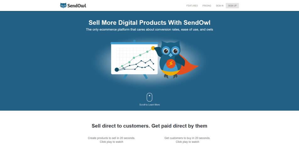 digitale produkte verkaufen plattform sendowl