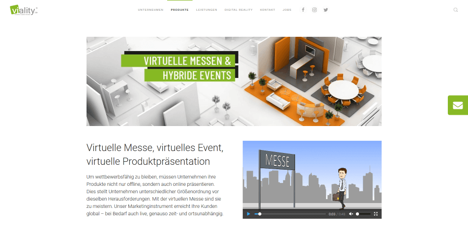 online messe virtuelle messe software viality