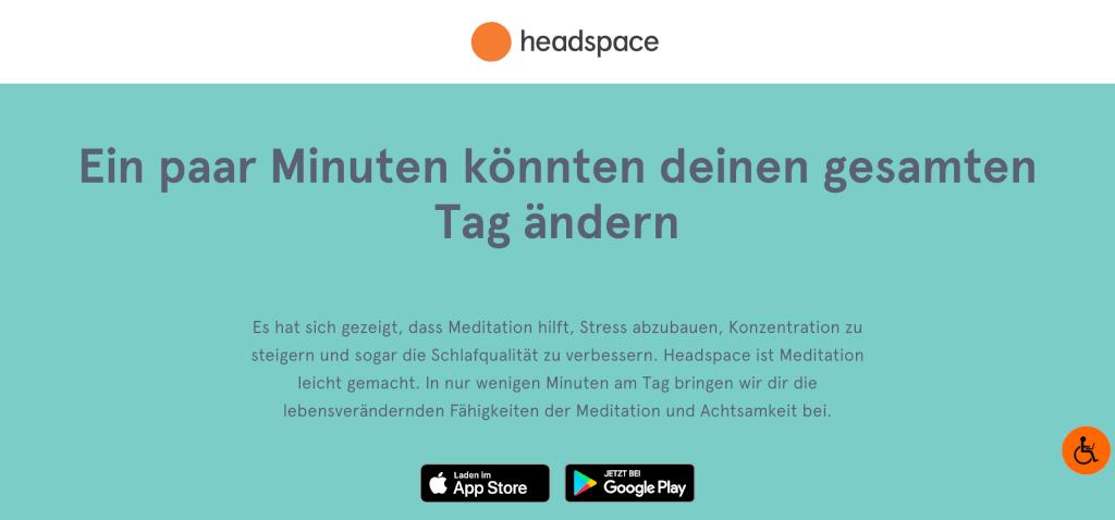 Gesundheitsapps Headspace