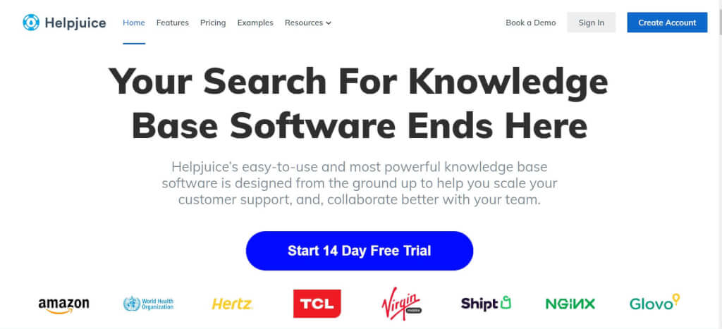 Helpjuice Knowledge Base Software