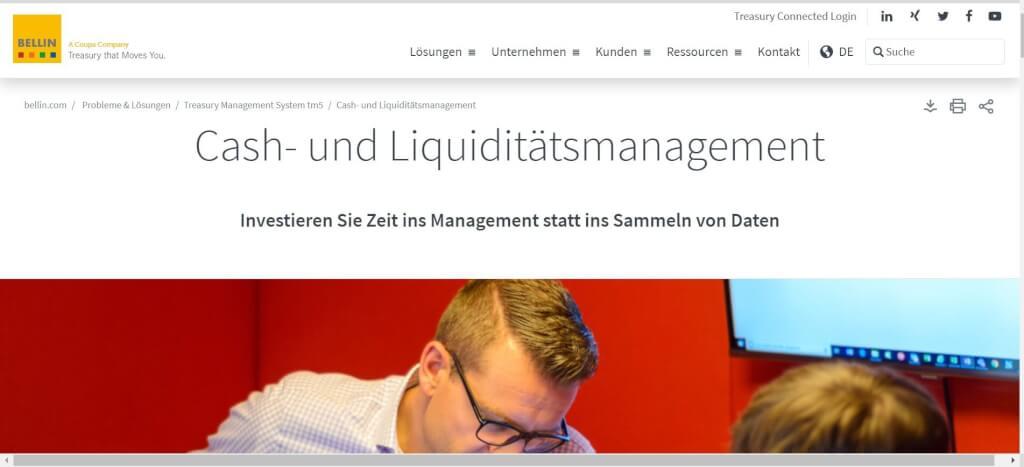 Liquiditaetsmanagement Tools BELLIN