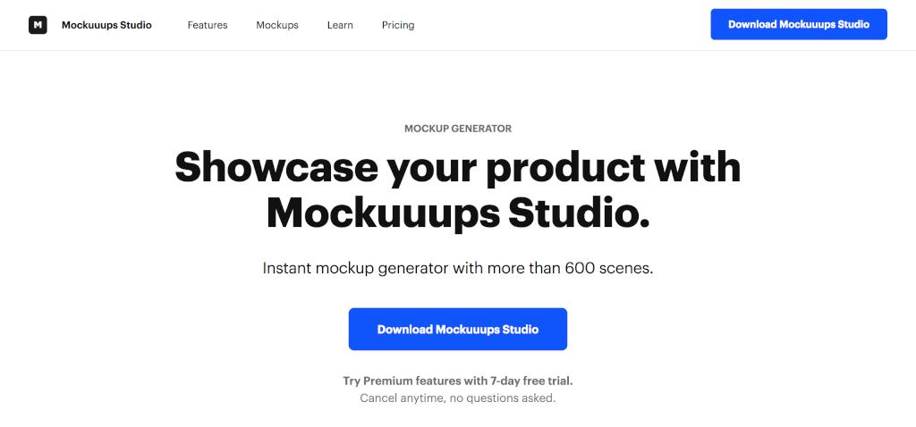 Mockups erstellen Mockuuups Studio