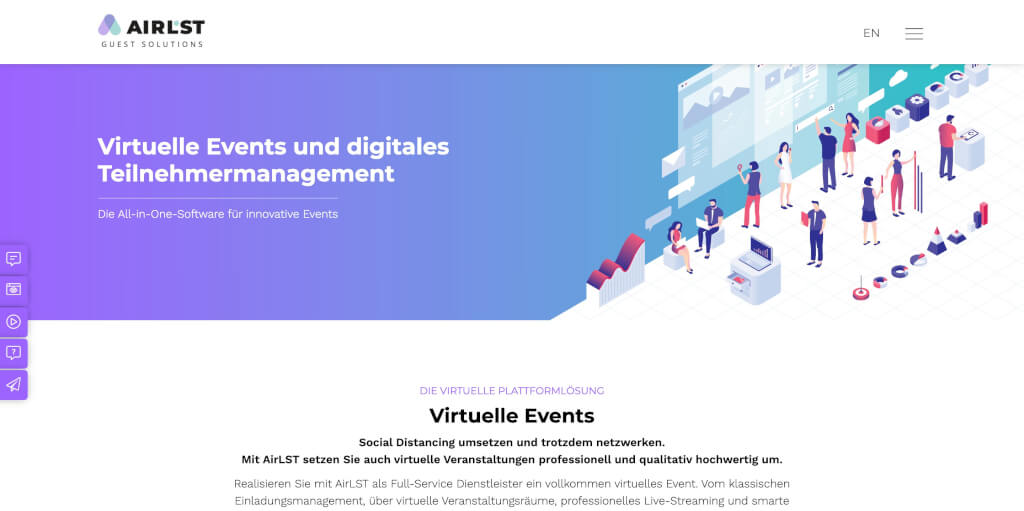 Virtuelle Events mit AirLST