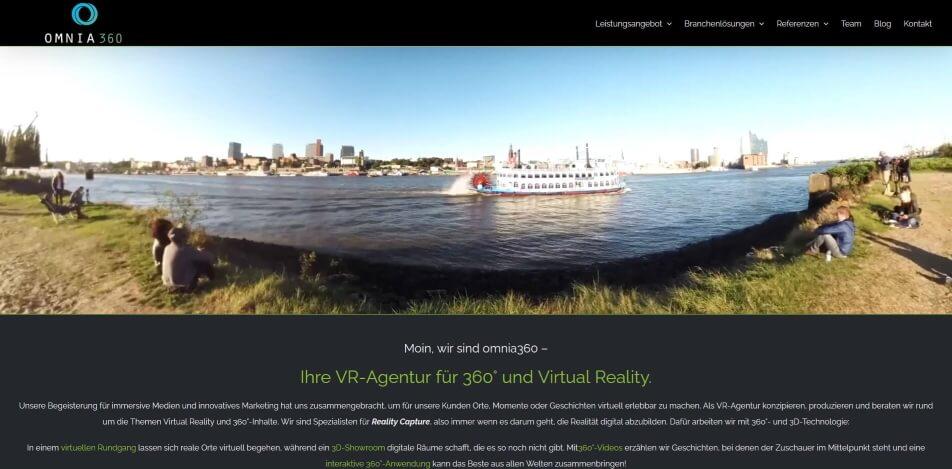 virtueller messestand erstellen software beispiele omnia360