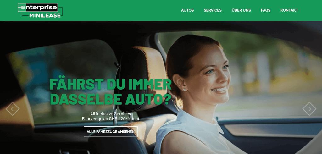 Auto Abo Schweiz enterprise minilease