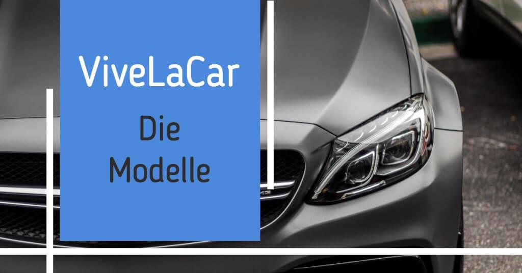 Auto Abo ViveLaCar Modelle