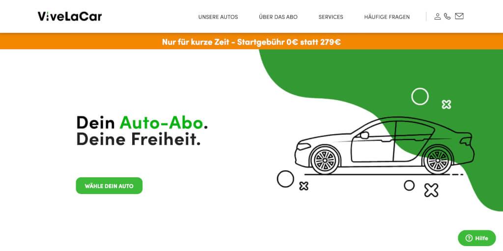 Das ViveLaCar Auto Abo Abonniere Dein Wunschauto Auto Abo ViveLaCar