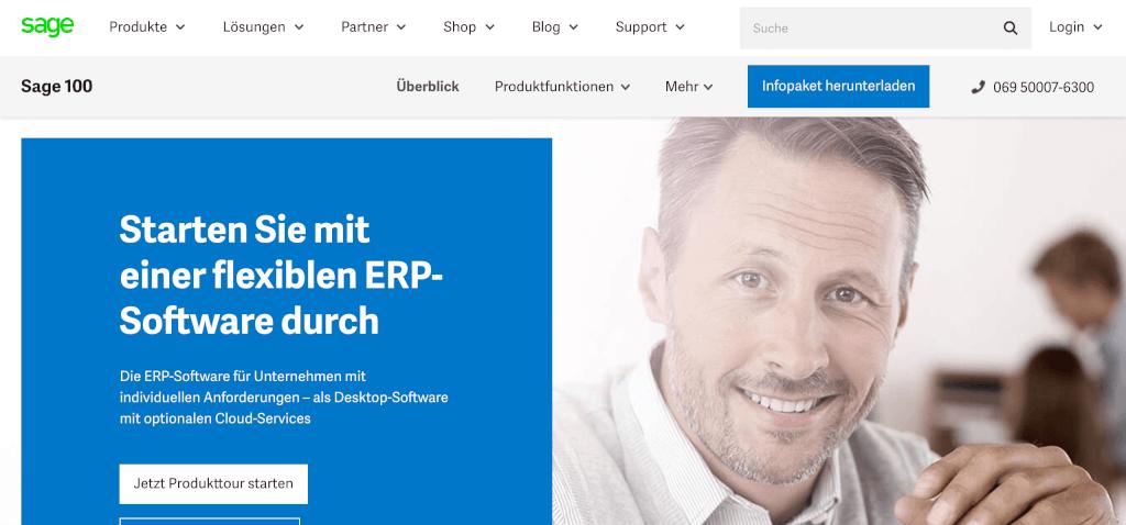 ERP Software Sage 100