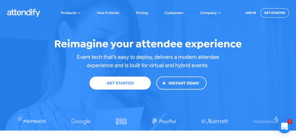Virtuelles Event Attendify