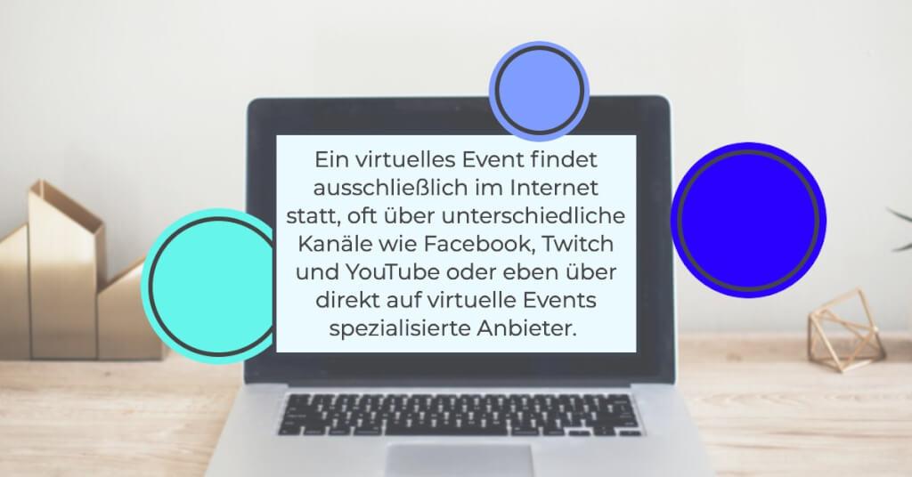 Virtuelles Event Zitat