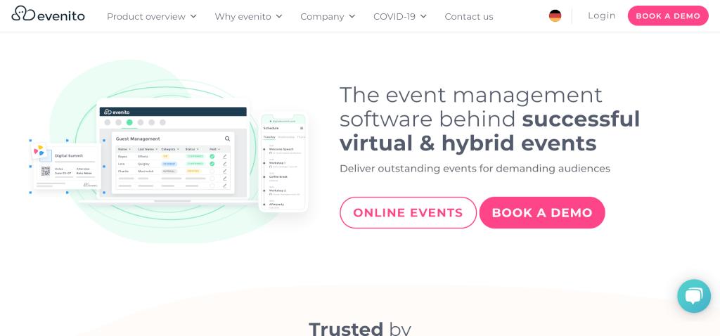 Virtuelles Event evenito