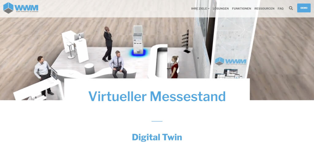 WWM Virtuelle Messestand