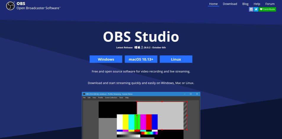 beste live streaming software kostenlos obs studio