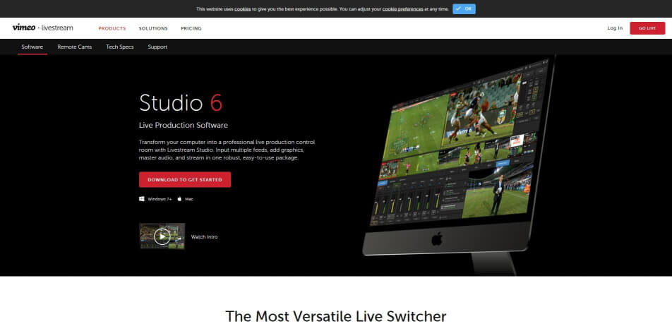 beste live streaming software kostenlos studio 6