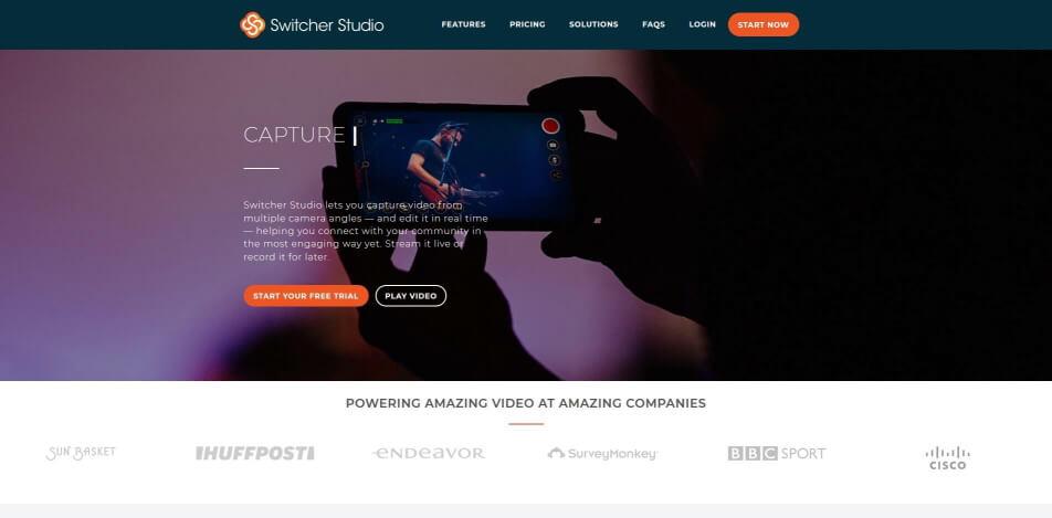 beste live streaming software kostenlos switcher studio