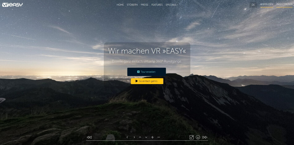 online messe virtuelle messe software VR Easy