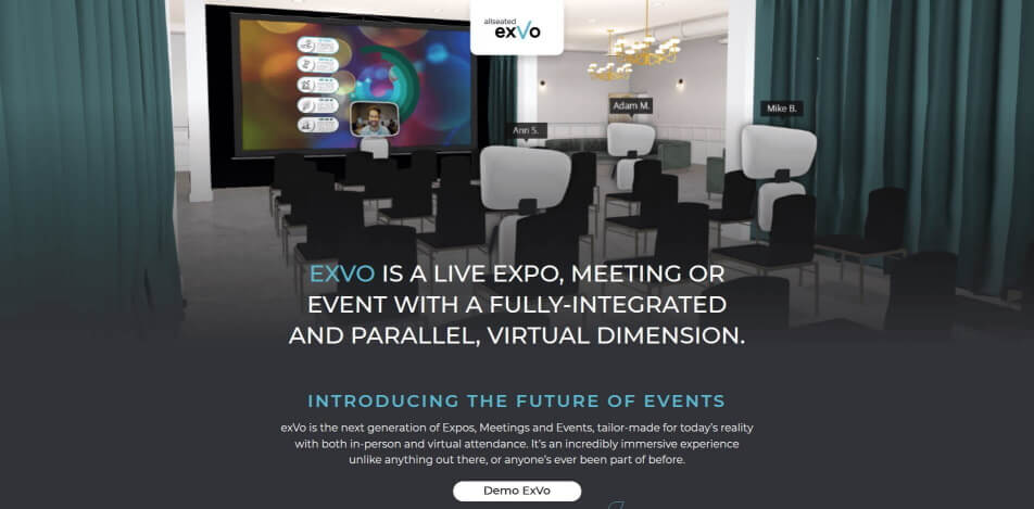 online messe virtuelle messe software exvo