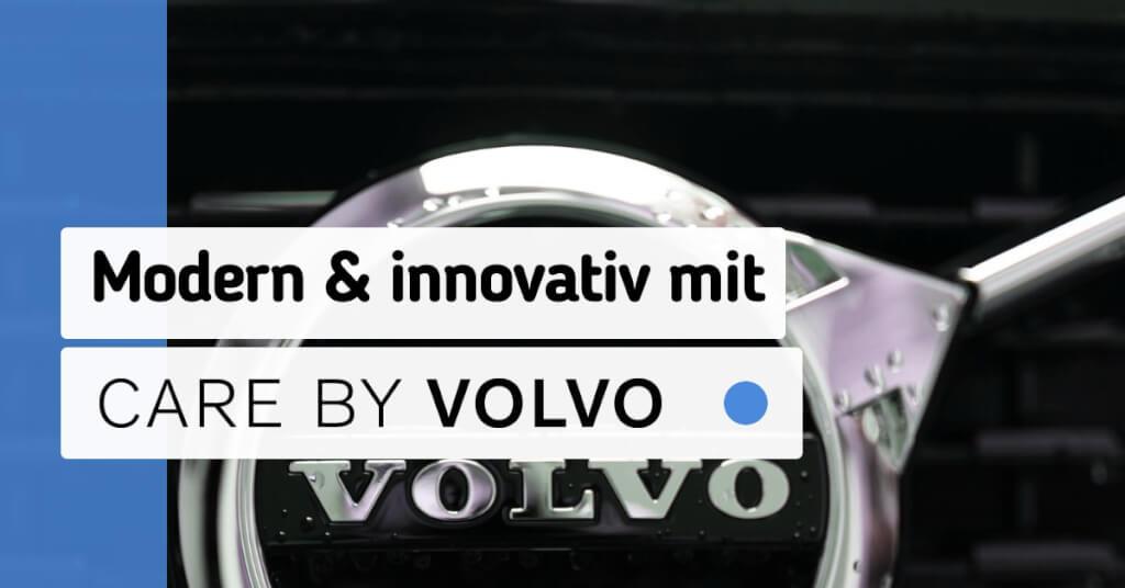 Erfahrungen Care by Volvo Fazit