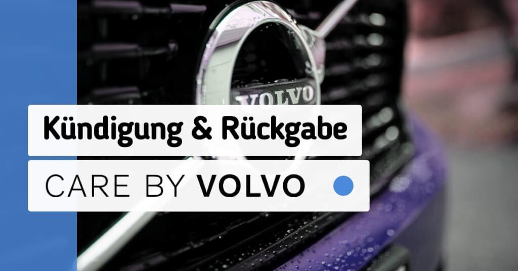 Erfahrungen Care by Volvo Kuendigung