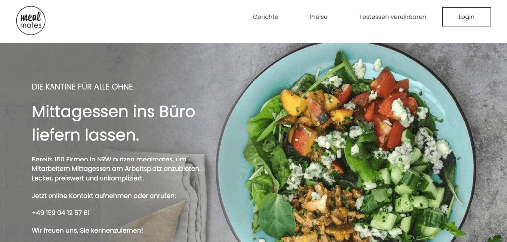 Online Kantine mealmates 1