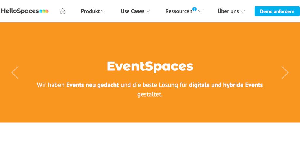 Virtuelles Event HelloSpaces