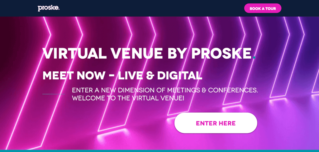 Virtuelles Event Proske Virtual Venue