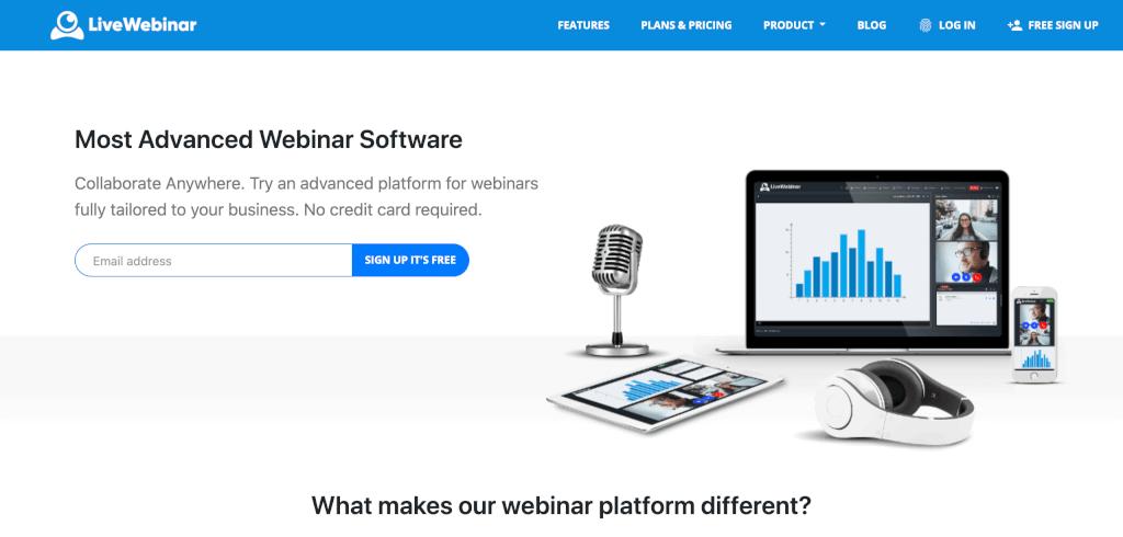 Webinar Software LiveWebinar com 1