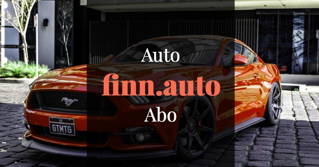 finn.auto Erfahrungen Auto Abo