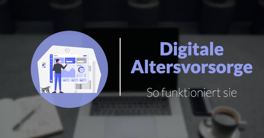 Digitale Altersvorsorge funktion