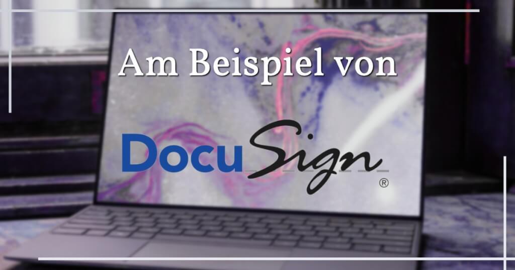 Digitale Signatur DocuSign