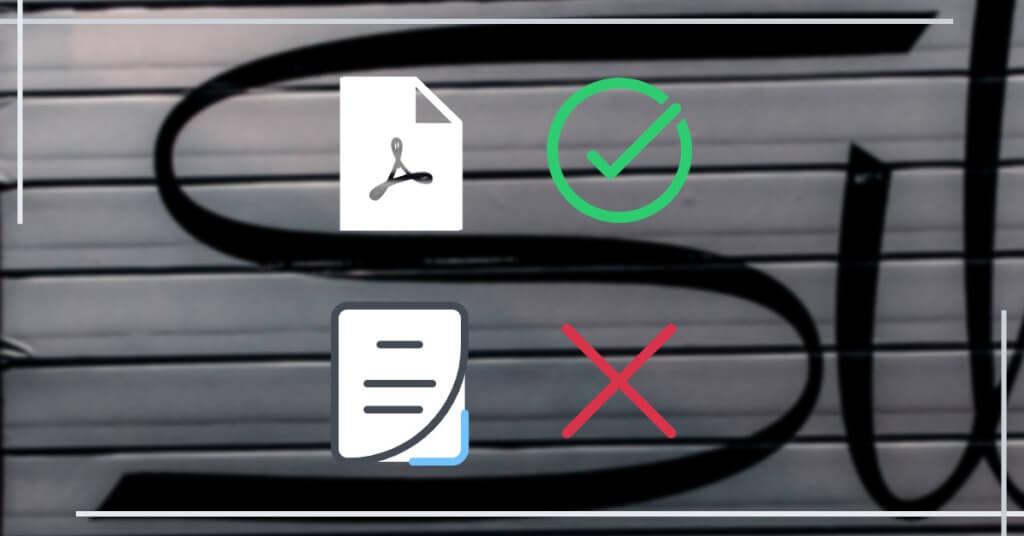 Digitale Signatur Fazit