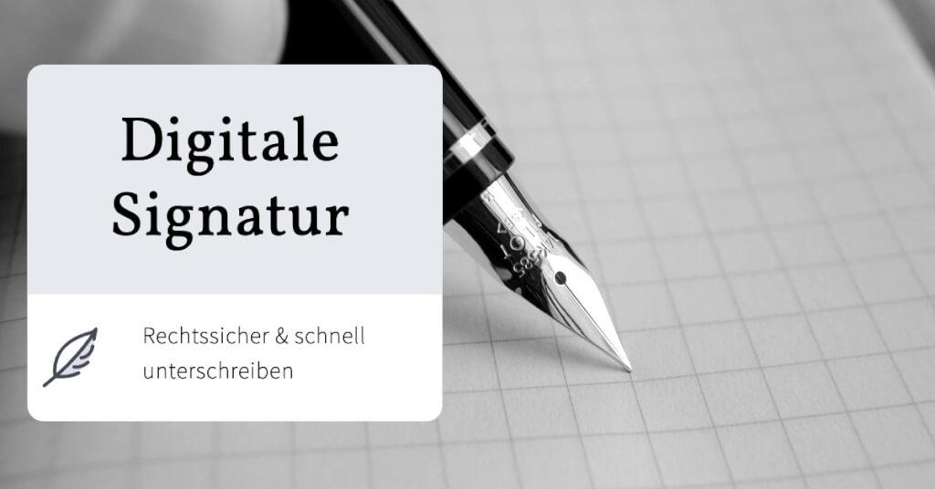Beitrag: Digitale Signatur erstellen – Rechtssicher und schnell