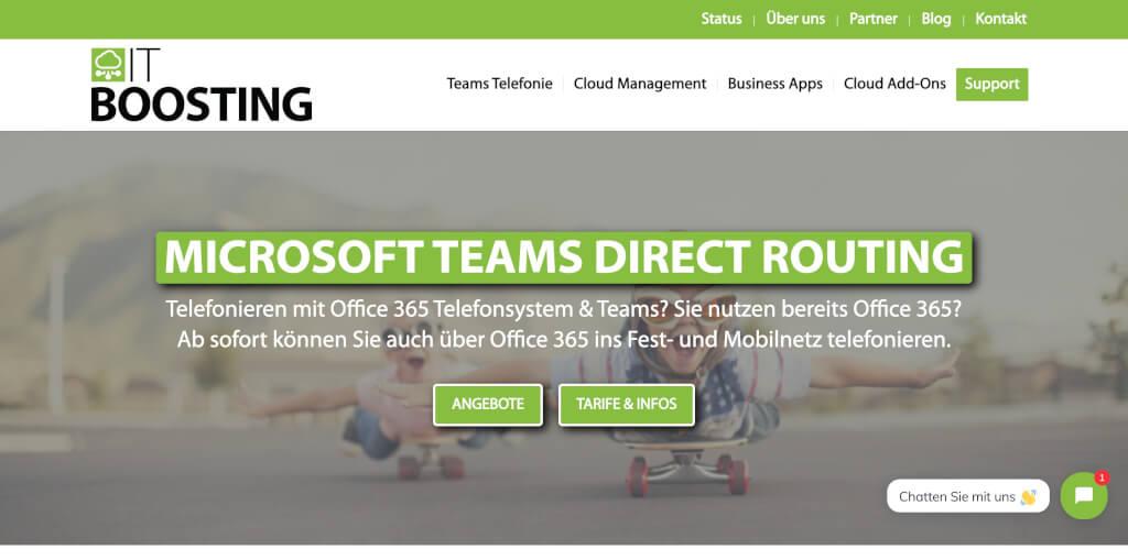 MS Teams IT Boosting Telefon Anbieter Digital Affin