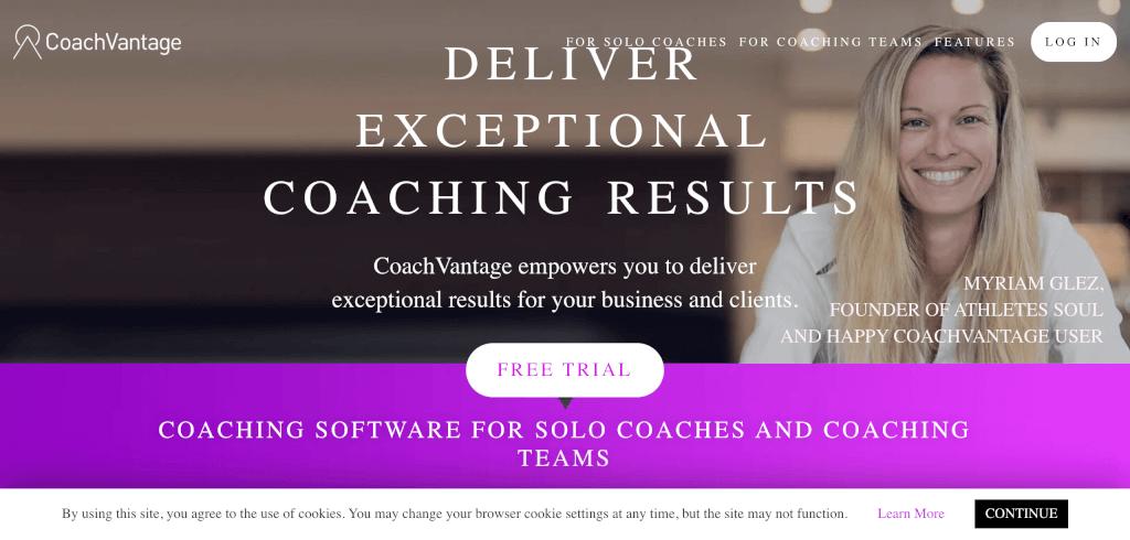 Coaching Software CoachVantage