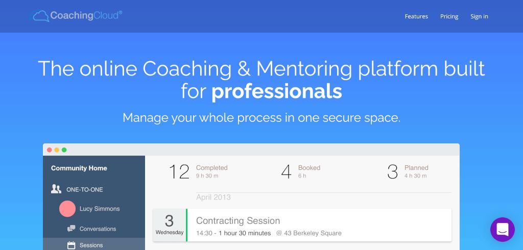 Coaching Software CoachingCloud