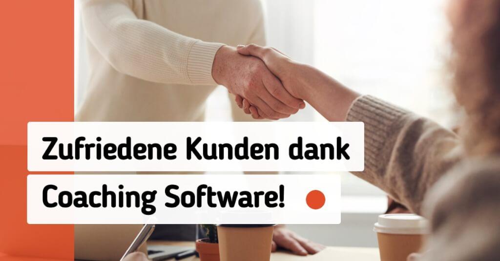 Coaching Software zufriedene Kunden